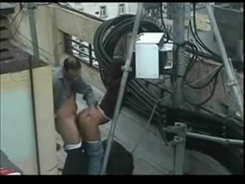 Sexo en la terraza argentinien