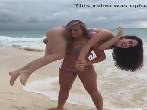 Ejercicio en la playa