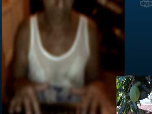 Colombiana se desnuda para mi en skype 23