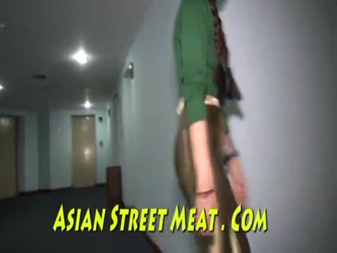 Persönliche bootie sodomize mit schlank frisch chinesisch