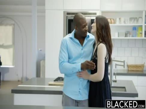 Schwarze meine freundinnen super-heiße stiefschwester cassidy klein mag großen schwarzen schwanz