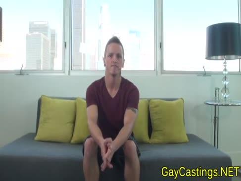Brasilianer lad luvs dicken schacht bei gaycastings