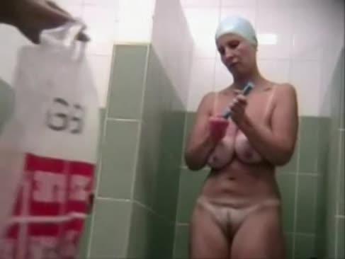 Reife yam-größe angeborene saggy-krüge versteckte nocken-dusche
