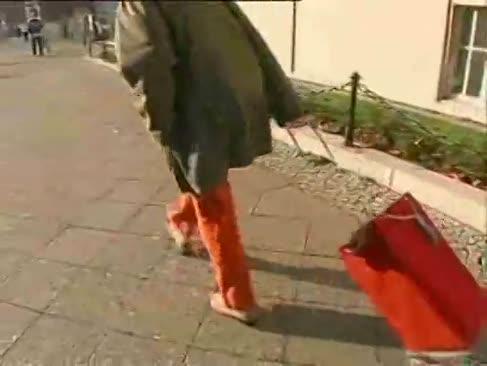 Malou massive rückseitige deutsche dame genießen arschfick