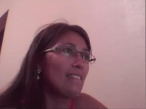 Flash der gammler auf web-cam