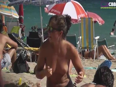 Camcorder bikini strand 09